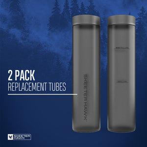 Skeeter Hawk Bait Station Replacement Tubes - 2 Pack