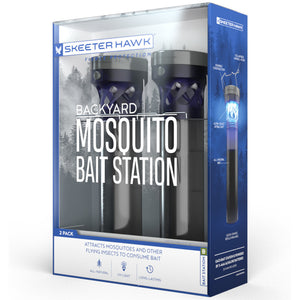 Skeeter Hawk Backyard Mosquito Bait Station - 2 Pack