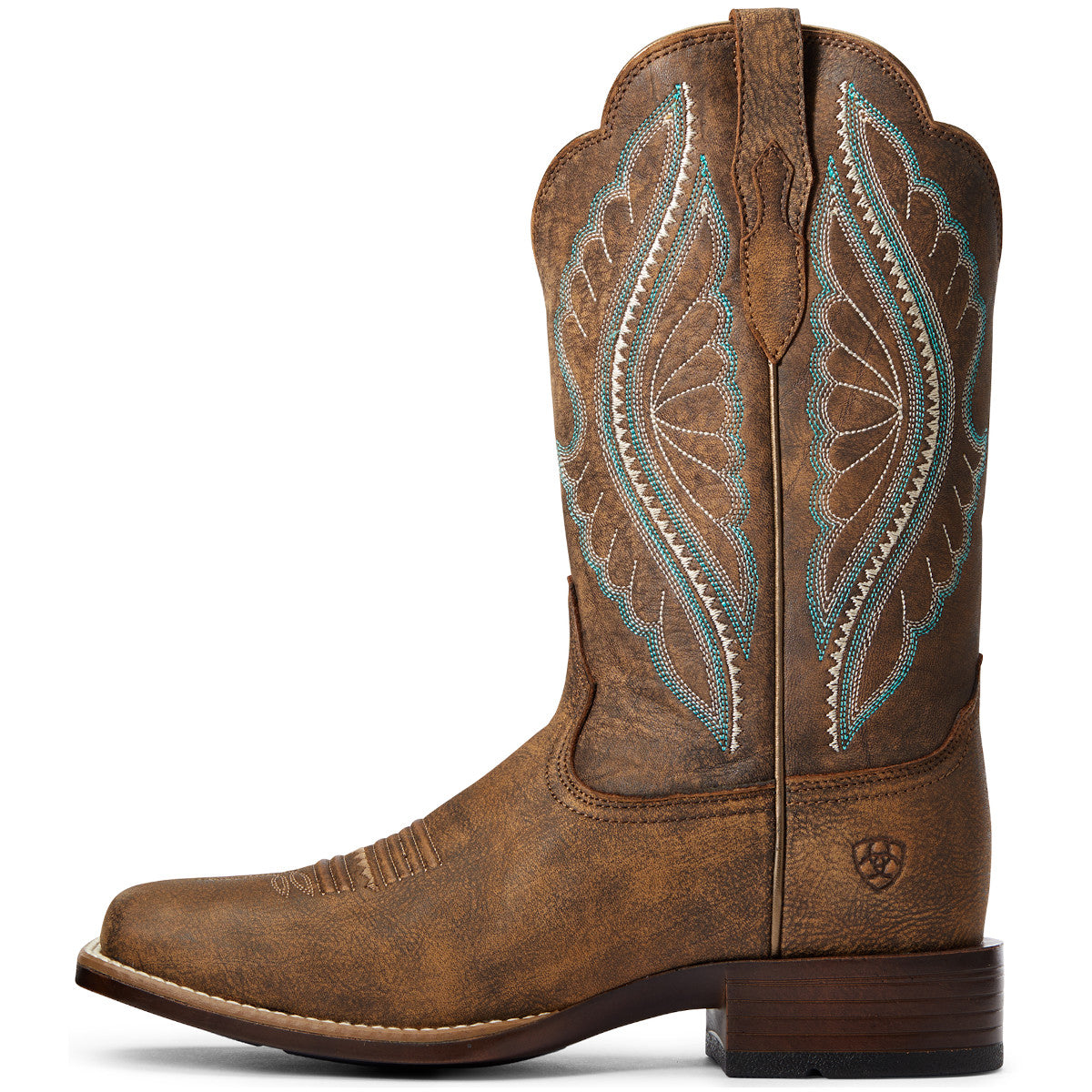 Ariat Women's Tack Room Brown PrimeTime Cowgirl Boots