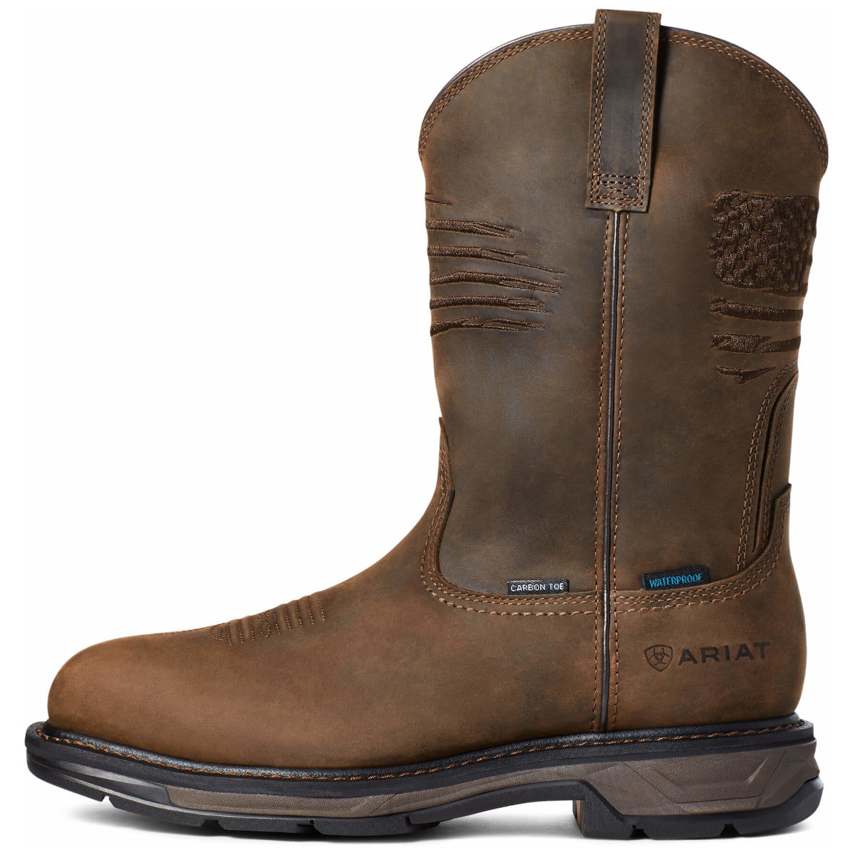Ariat Men's WorkHog XT Patriot Waterproof Carbon Toe Work Boots