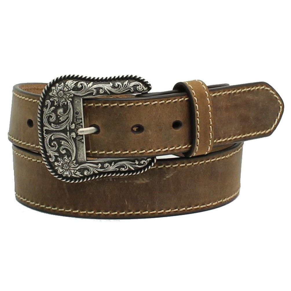 Ariat Women's Brown Leather Western Belt