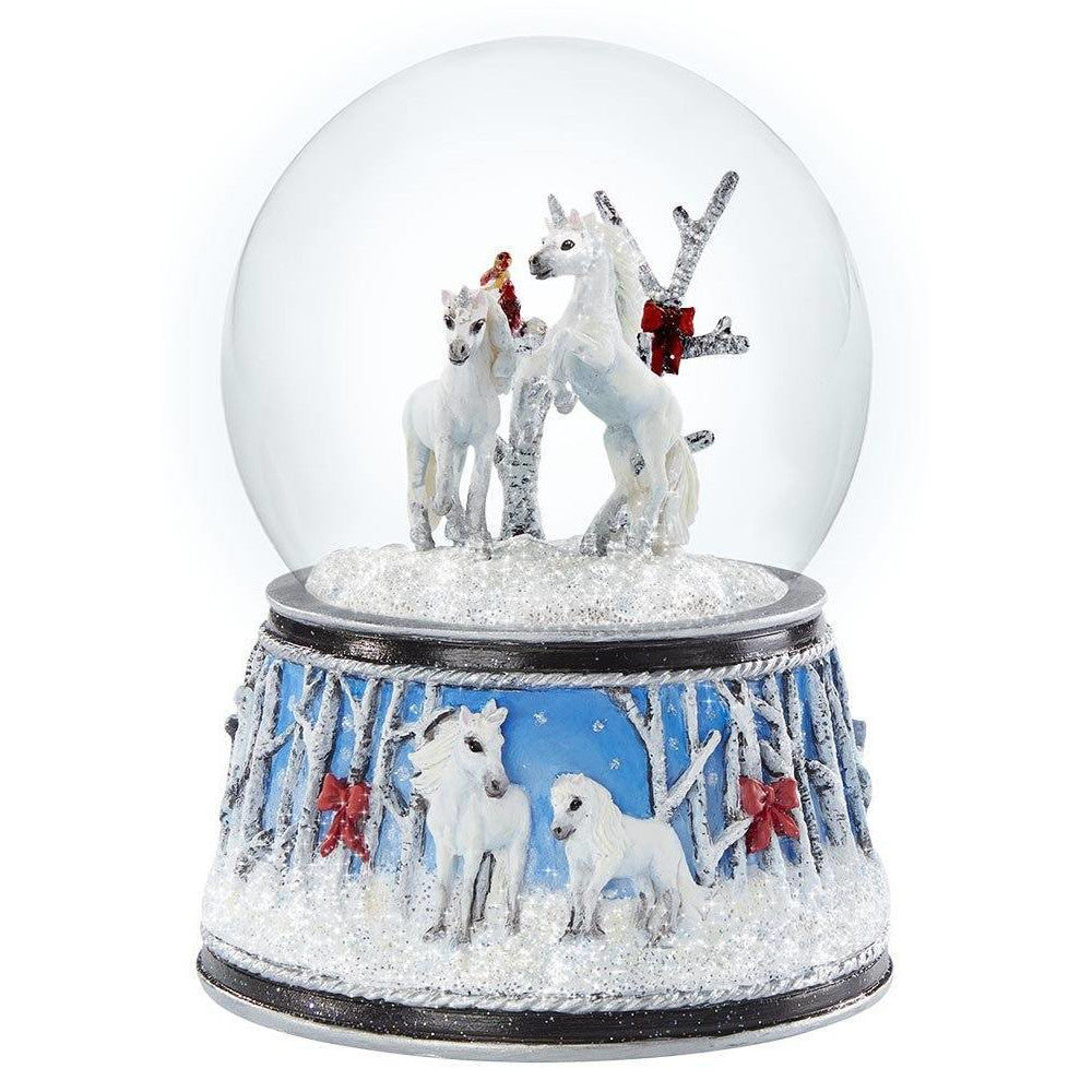 Breyer Enchanted Forest - Musical Snow Globe