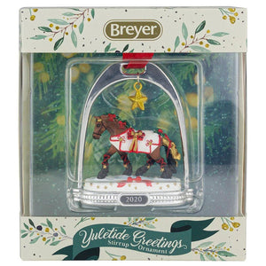 Breyer Yuletide Greetings Holiday Horse - Stirrup Ornament