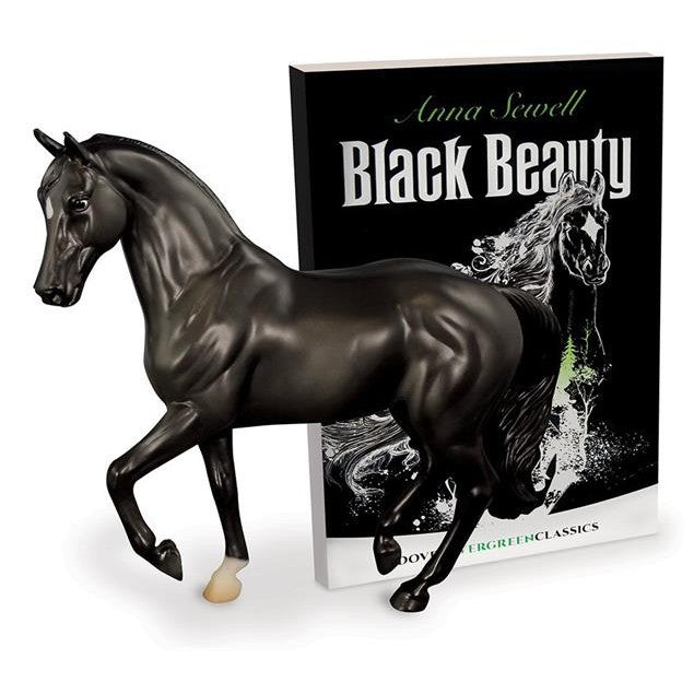 Breyer Black Beauty Model Horse and Book Set