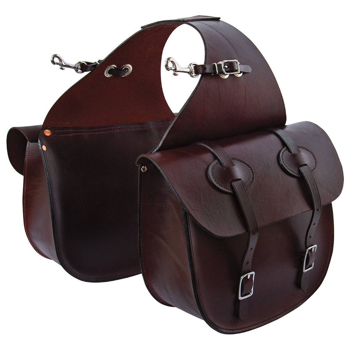 Tucker Traditional Leather Saddle Bag
