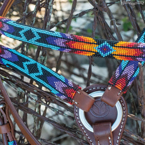 Circle Y Sunset Infinity Wrap Breast Collar