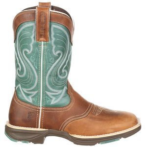 Durango Women's Ultra-Lite Emerald Saddle Cowgirl Boots