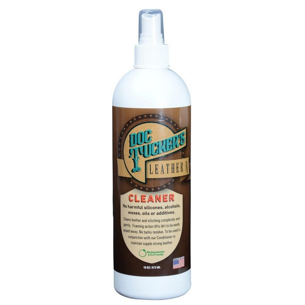 Doc Tucker's Leather Cleaner 16oz.