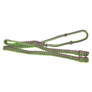 The Epic Animal Two-Tone Braided Barrel/Roper Rein