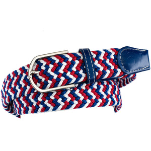 Ovation Women's Braided Stretch English Belt