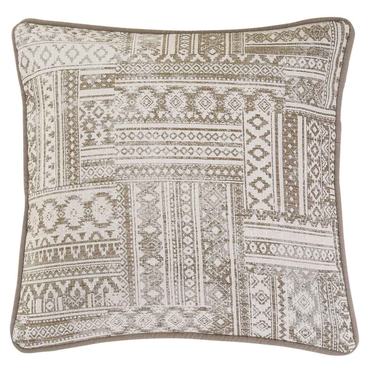 "HiEnd Accents Trent Aztec Patchwork Pillow - 20"" x 20"""
