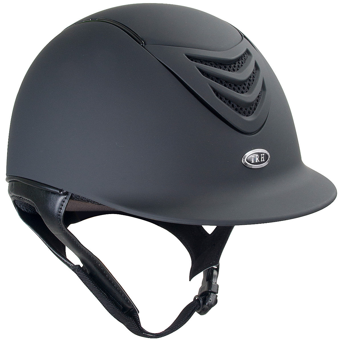 IRH 4G Matte Black Riding Helmet