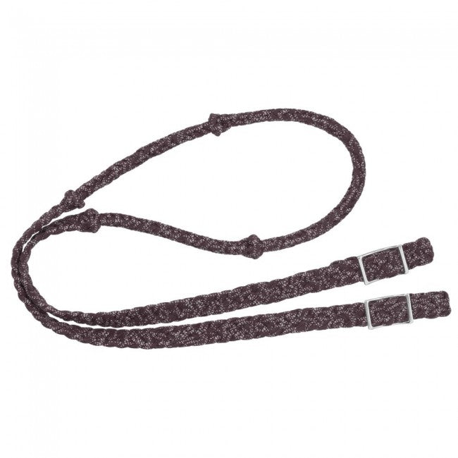 Tough-1 Reflective Cord Knot Roping Rein