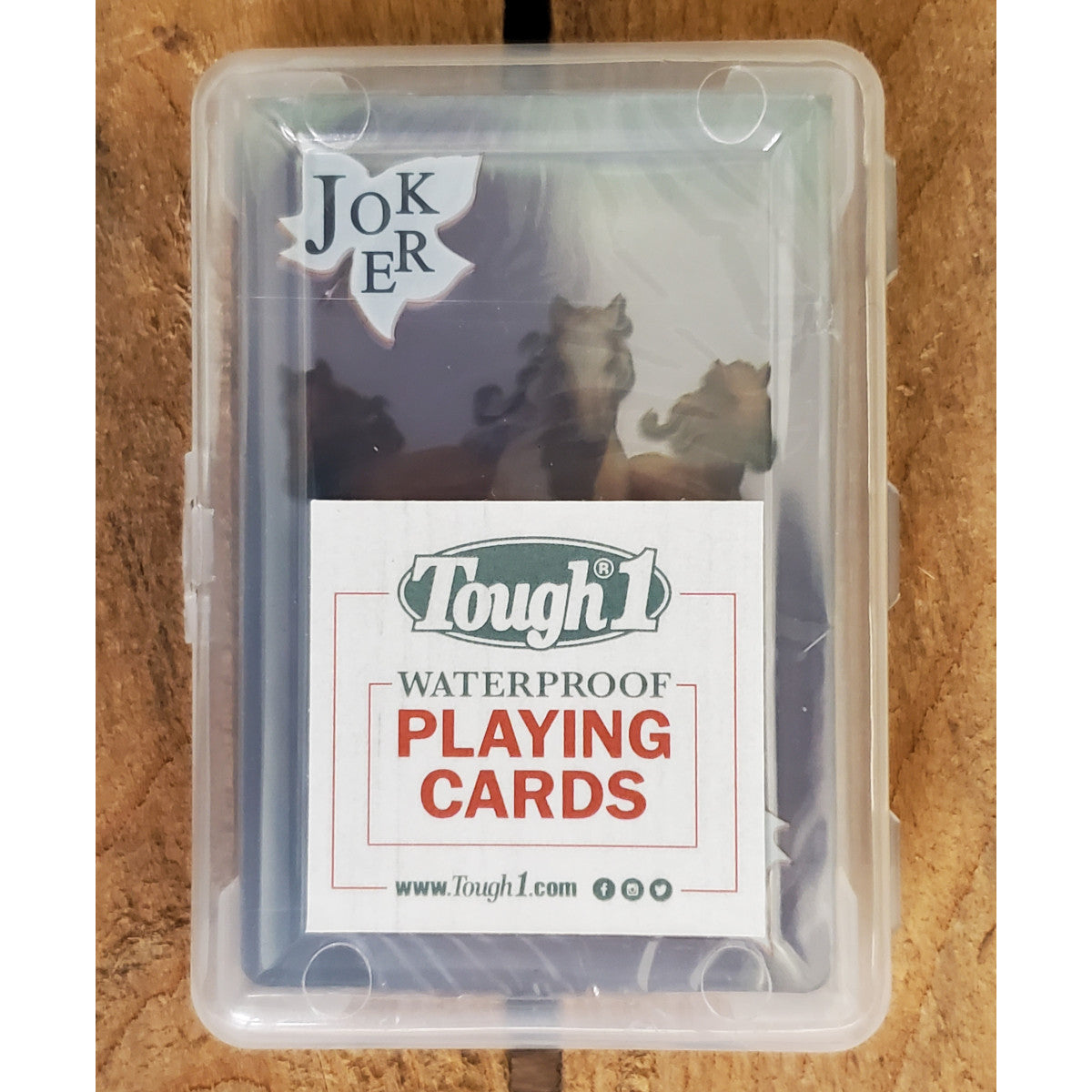 Tough-1 Horse Waterproof Playing Cards