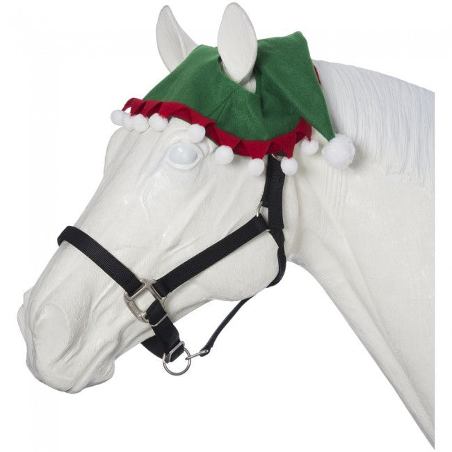 Tough-1 Holiday Elf Horse Hat