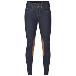 Kerrits Women's Stretch Denim Knee Patch Breeches
