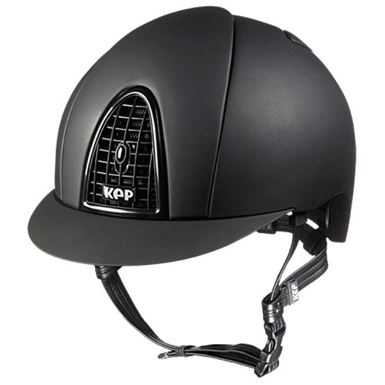 Kep Italia Cromo Matt Black Riding Helmet