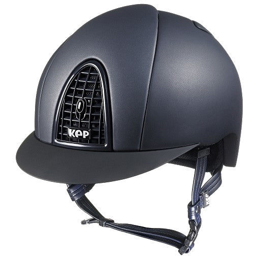 Kep Italia Cromo Matt Blue Riding Helmet