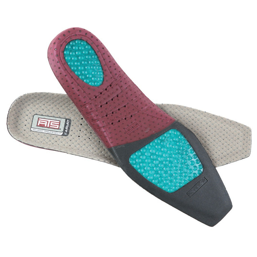 Ariat Women's Square Toe ATS Footbed Insoles