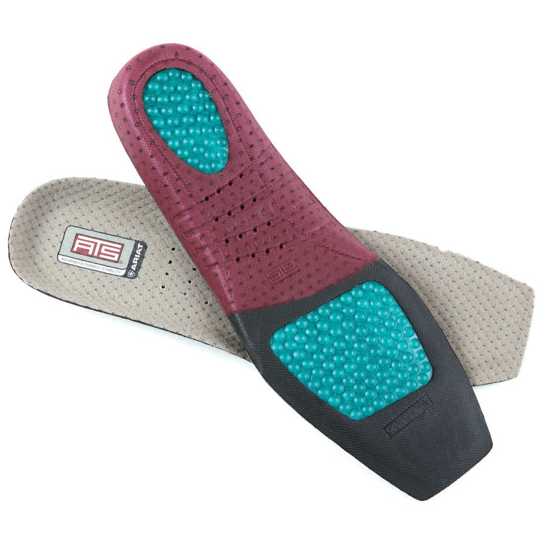 Ariat Women's Wide Square Toe ATS Footbed Insoles