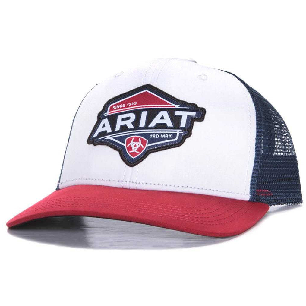 Ariat Red,White & Blue Trademark Cap