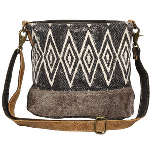 Myra Azure Printed Shoulder Bag