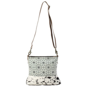Myra Green Floral Print Shoulder Bag