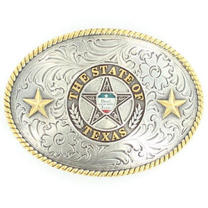 Nocona Don't Mess With Texas Belt Buckle