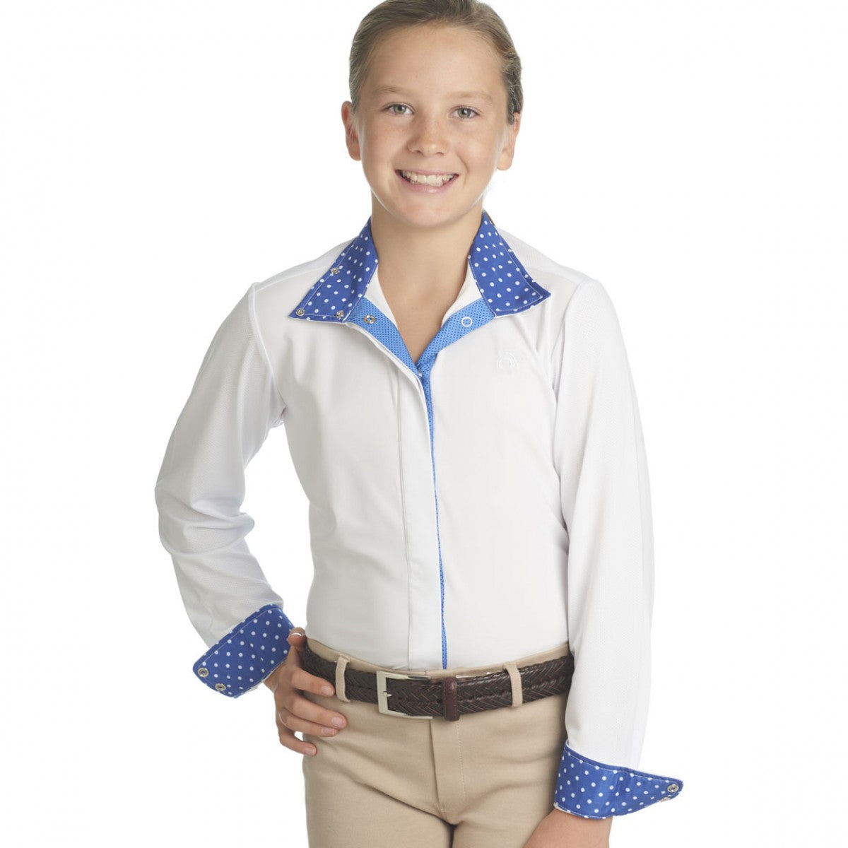 Ovation Kids' Ellie Long Sleeve Tech Show Shirt