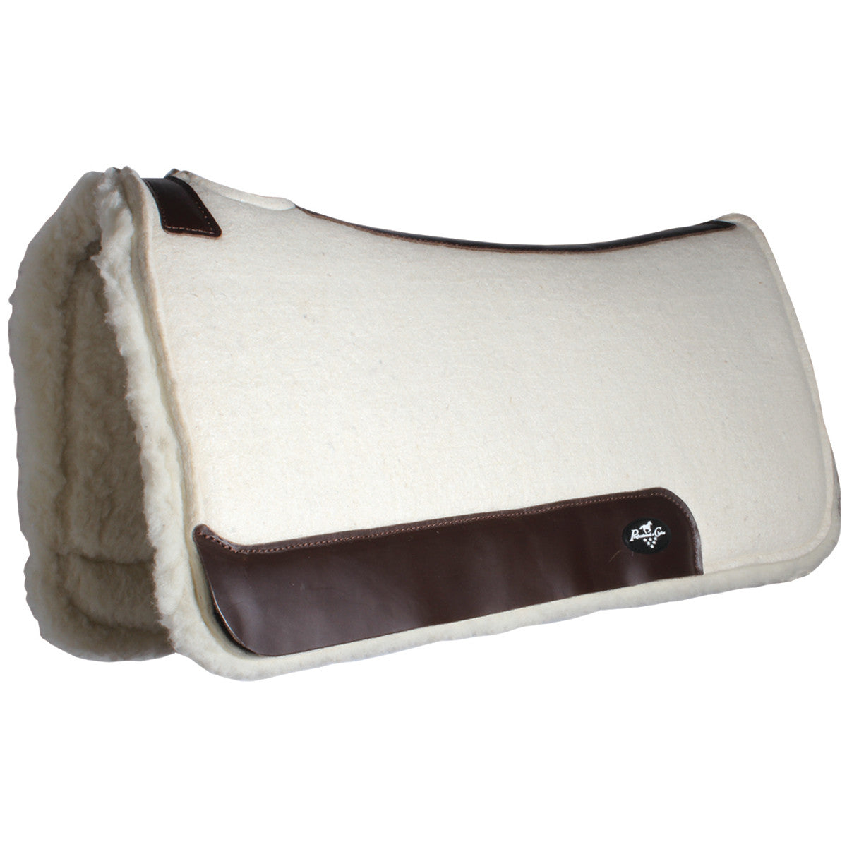 Professional's Choice Steam Pressed Comfort-Fit Merino Wool Saddle Pad