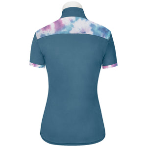 R.J. Classics Women's Calypso Blue Maya 37.5 Short Sleeve Training Shirt