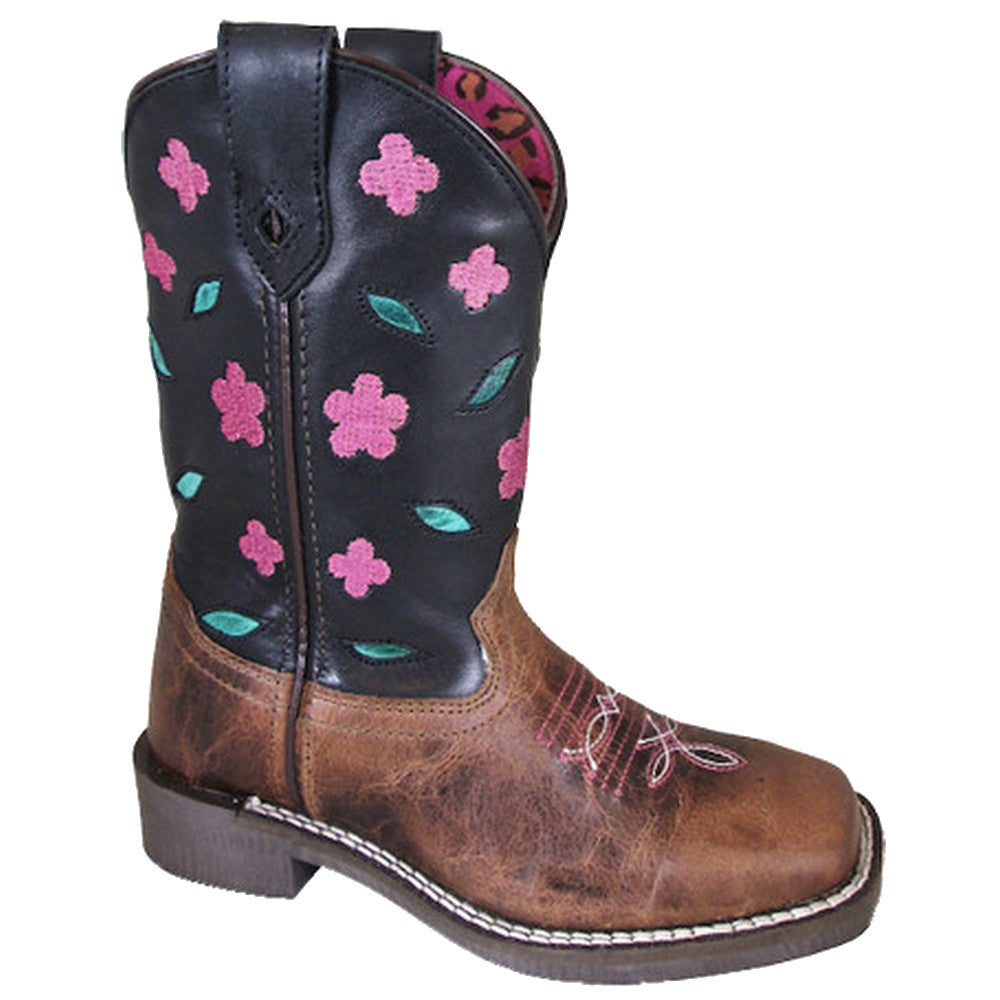 Smoky Mountain Kids' Dogwood Floral Cowgirl Boots
