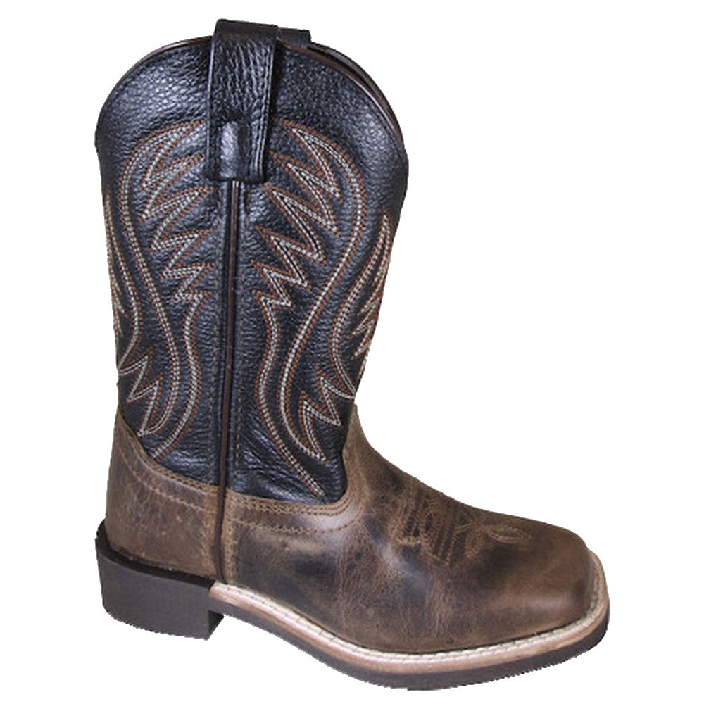 Smoky Mountain Kids' Travis Square Toe Cowboy Boots