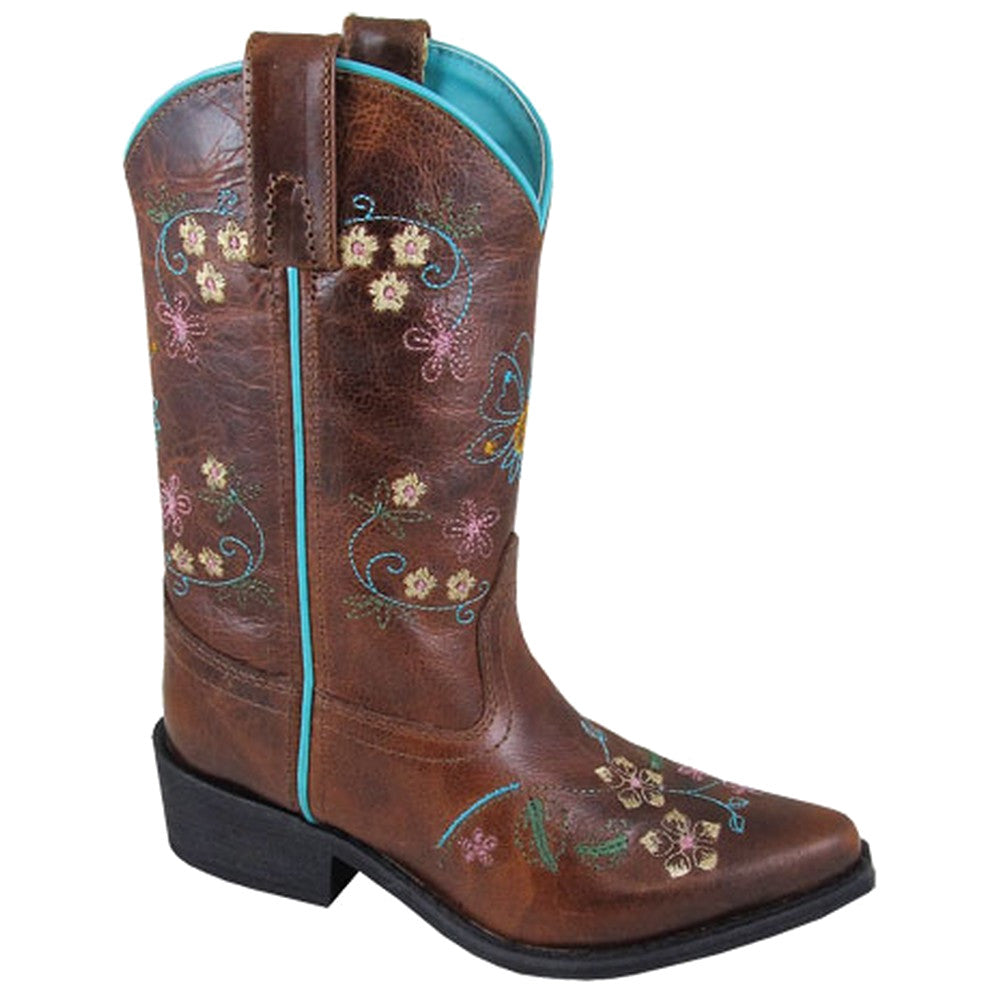 Smoky Mountain Kids' Florence Snip Toe Cowgirl Boots