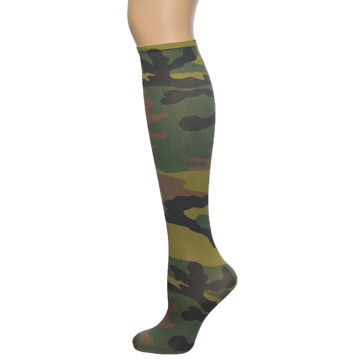 Sox Trot Women's Army Knee High Socks