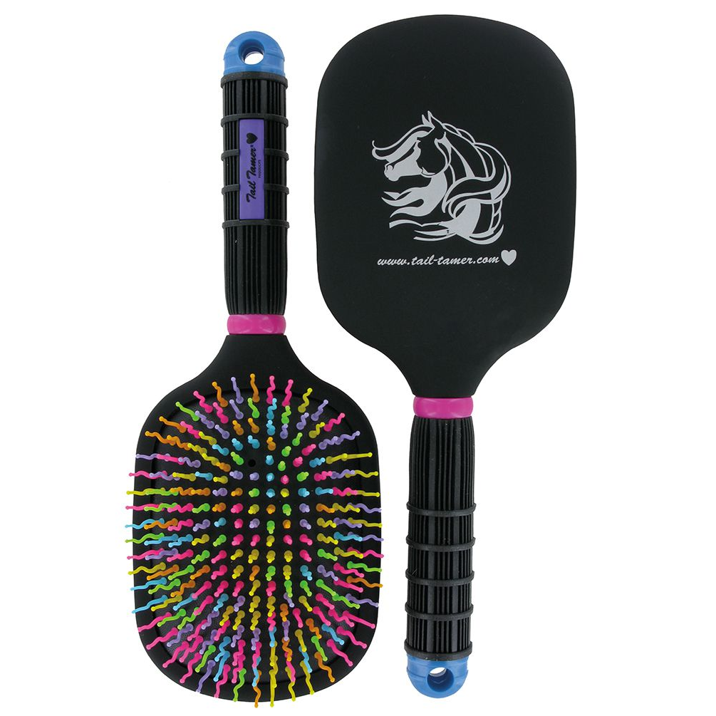 Tail Tamer Rainbow Paddle Mane and Tail Brush