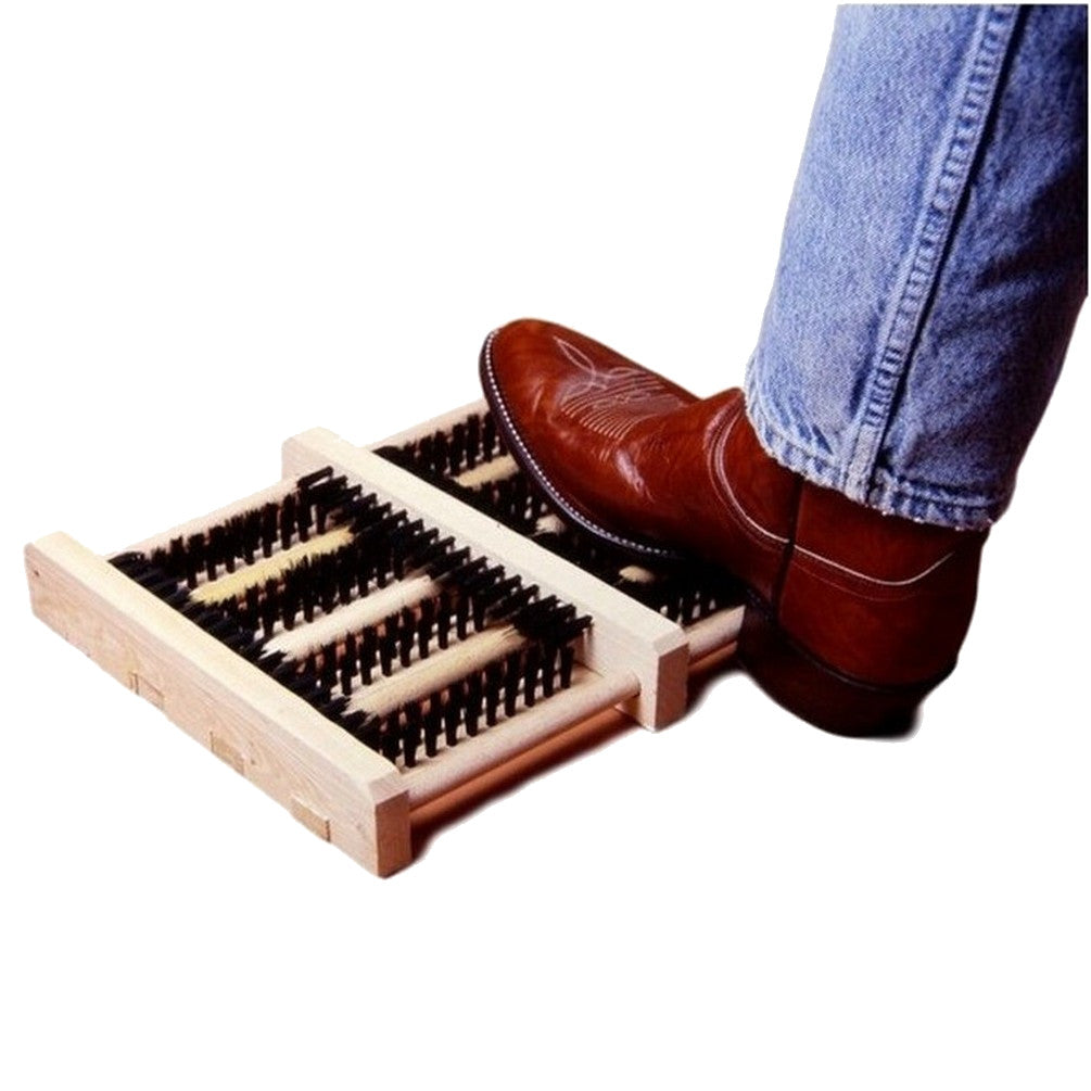 Tough-1 Hands Free Brush Boot Cleaner