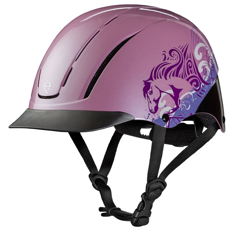 Troxel Spirit Pink Dreamscape All-Purpose Riding Helmet