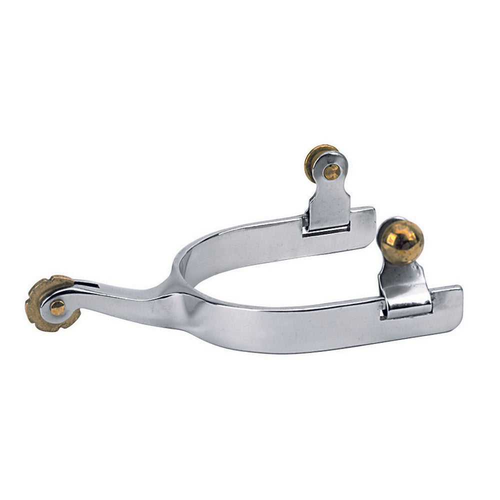 Weaver Kids' Stainless Steel Plain Band Spurs