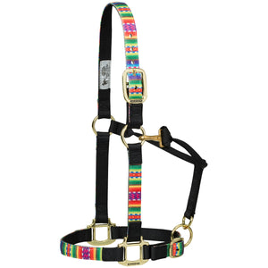 Weaver Nylon Adjustable Chin and Throat Snap Horse Halter