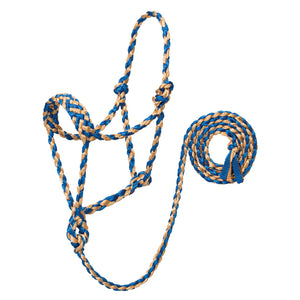 Weaver Braided Rope Halter with 6' Lead