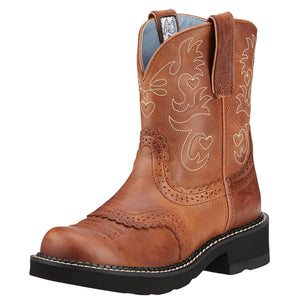 Ariat Women's Fatbaby Saddle Cowgirl Boots