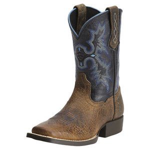 Ariat Kids' Brown Tombstone Cowboy Boots