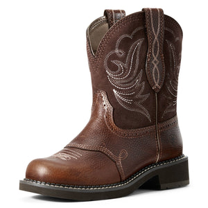 Ariat Women's Copper Kettle Fatbaby Heritage Dapper Cowgirl Boots