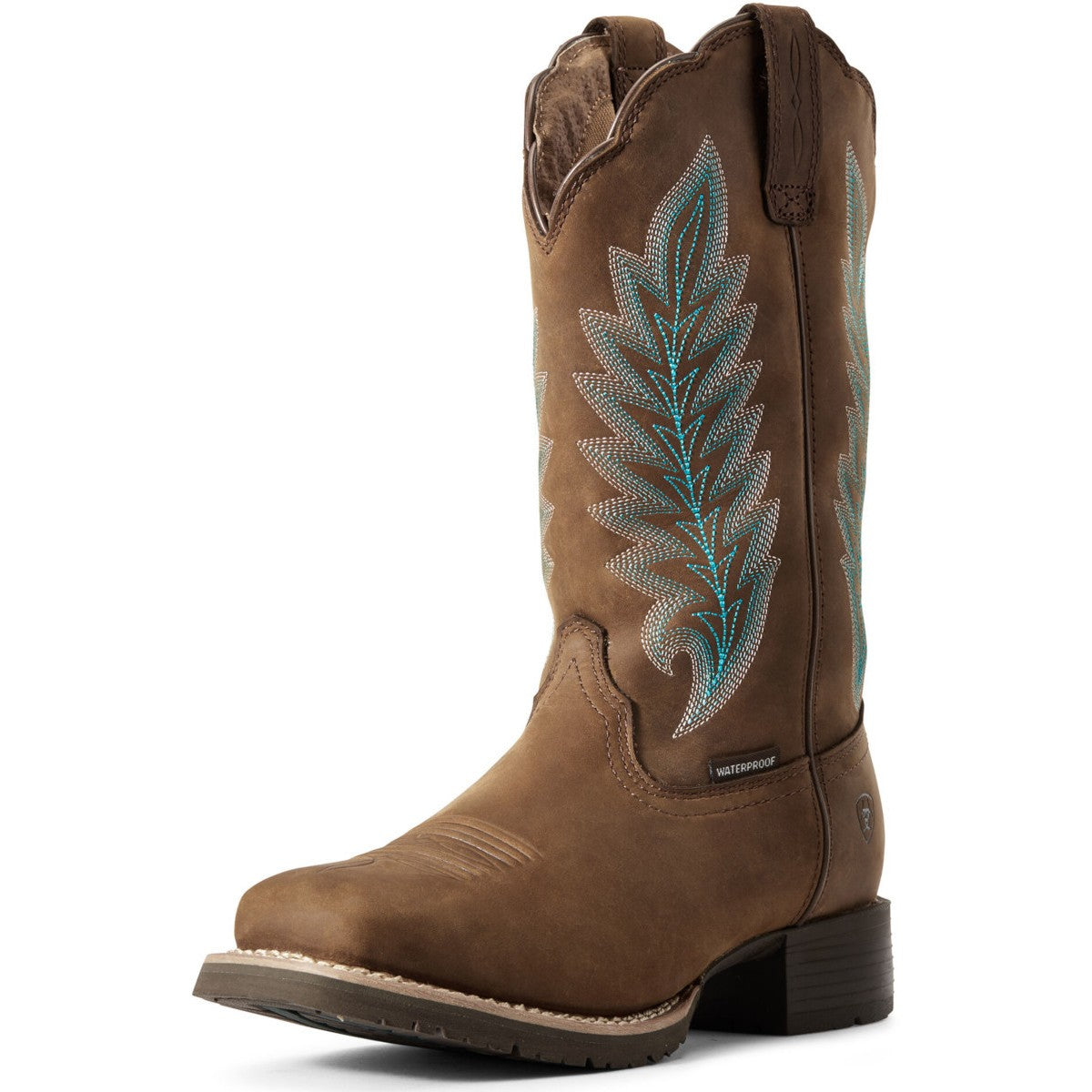 Ariat Women's Hybrid Rancher Waterproof 400g Insulated Cowgirl Boots