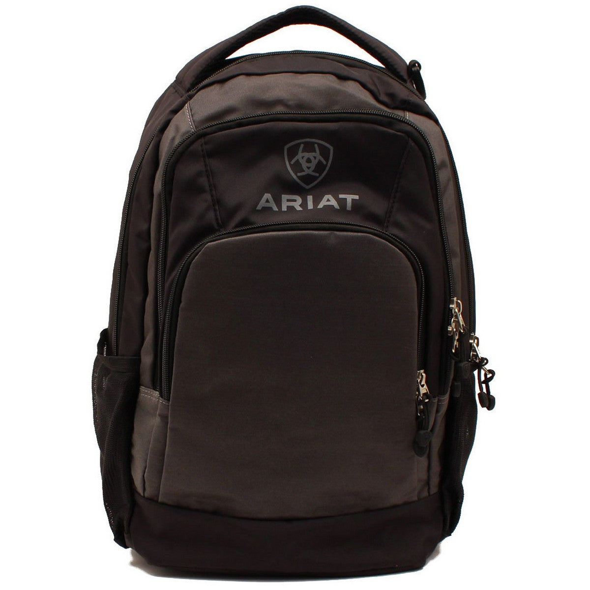Ariat Grey and Black Top Handle Backpack