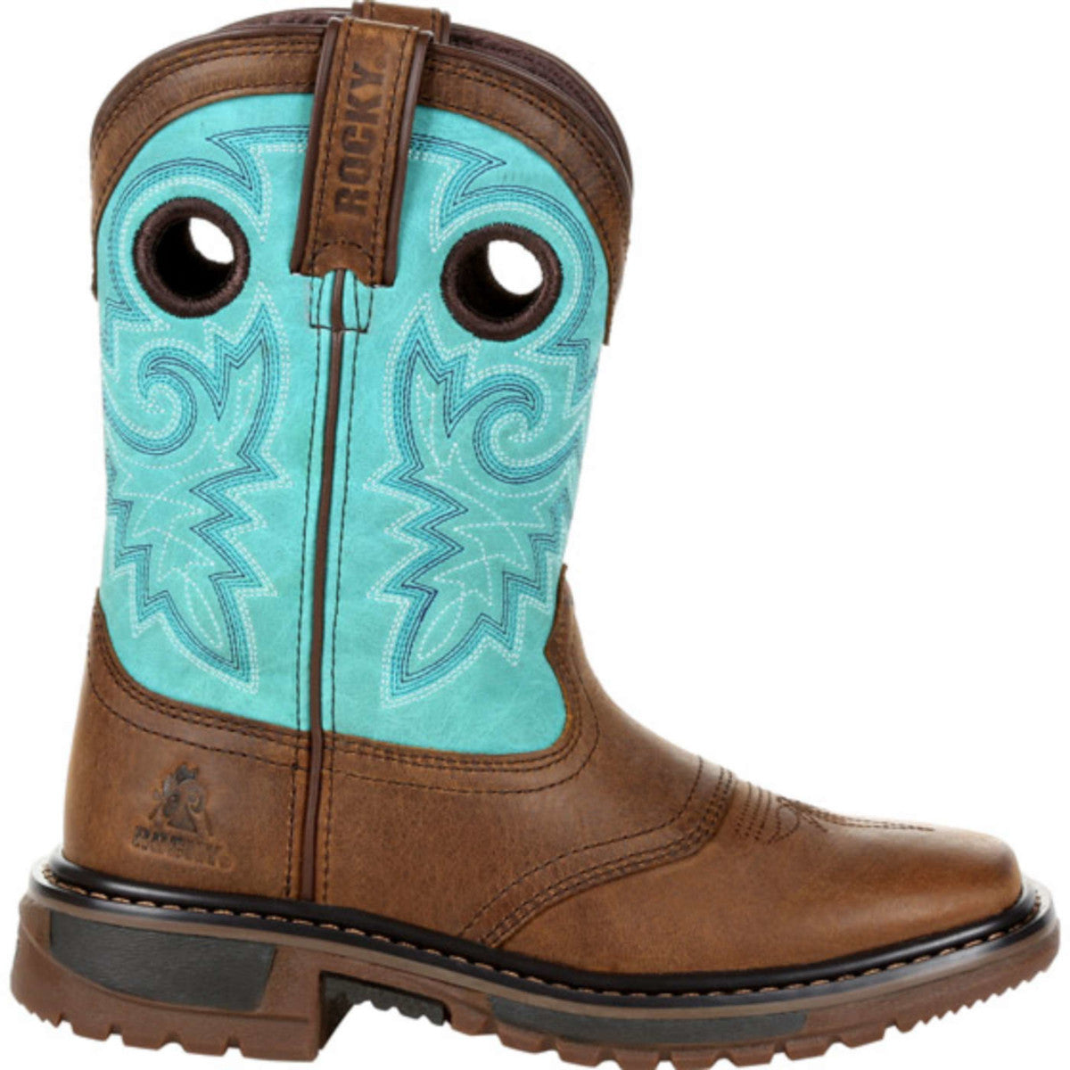 Rocky Kids' Original Ride FLX Cowgirl Boots