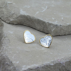 Montana Silversmiths Classic Heart Earrings