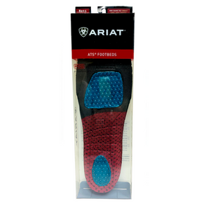 Ariat Men's Wide Square Toe ATS Footbed Insoles