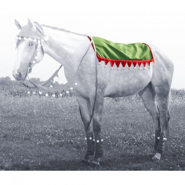 Tough-1 Holiday Elf Western Saddle Pad Cover